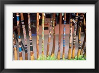 Framed Didgeridoos Australia