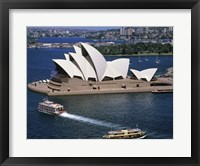 Framed High angle view of an opera house, Sydney Opera House, Sydney, Australia