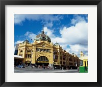 Framed Low angle view of a shot tower, Melbourne Central, Melbourne, Victoria, Australia