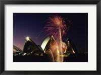 Framed Sydney Opera House Sydney Australia