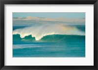 Framed Curling wave in the sea, Sleaford Bay, Australia