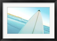 Framed Close-up of a surfboard, Fishery Bay, Australia