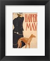 Framed Harper's May