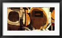 Graphic Abstract I Framed Print