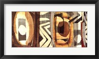 Graphic Abstract II Framed Print