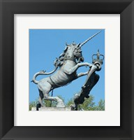 Framed Hampton Court Unicorn