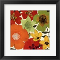 Garden Brights I Framed Print