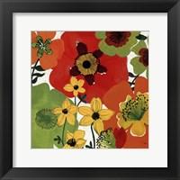 Garden Brights II Framed Print
