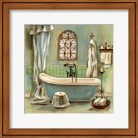 Framed Glass Tile Bath I