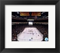 Framed TD Garden, 2011 Stanley Cup Chapionship Banner Raising