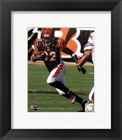Framed Cedric Benson 2011 Action