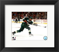 Framed Dany Heatley 2011-12 Action