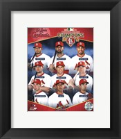 Framed St. Louis Cardinals 2011 National League Champions Composite