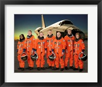 Framed STS 121 Crew Portrait