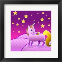 Framed Stary Sky Unicorn