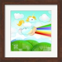 Framed Rainbow Guide Unicorn