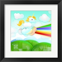 Framed Rainbow Guide Unicorn