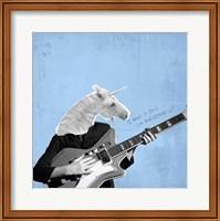 Framed Awesome Unicorn