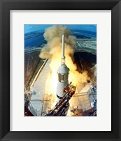 Framed Apollo 11 Launch