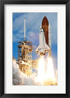 Framed Atlantis Launch