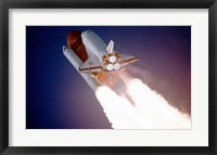 Framed Atlantis Taking Off on STS-27