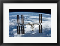 Framed STS-126  ISS Flyaround