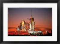 Framed STS-129 Atlantis Ready to Fly