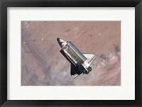 Framed STS-129 Atlantis Separation