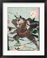 Framed Battle of the Samurai