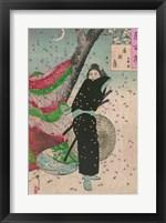 Framed Lady Samurai