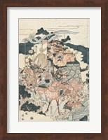 Framed Samurai Battle I