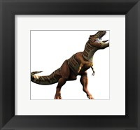 Framed T-rex Roar