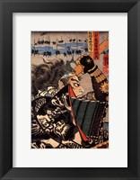 Framed Amakasu Samurai