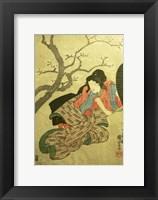 Framed Femme Samurai