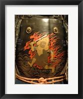 Framed Hotoke dou samurai armor