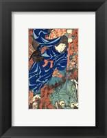 Framed Kuniyoshi Utagawa, Suikoden Series