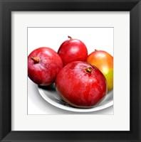 Framed Mangoes In a White Bowl