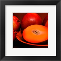 Orange Mangoes Framed Print