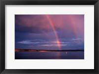 Framed Double Rainbow