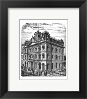 Framed General Post Office 1884 Toronto Canada