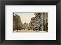 Framed Postcard of Toronto street and post office, Toronto, Canada