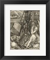 Framed Melencolia I Durer, Albrecht
