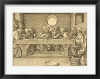 Framed Last Supper Durer