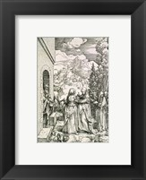 The Visitation Framed Print