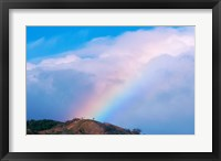 Framed Rainbow at Monteverde Cloud Forest Reserve, Costa Rica