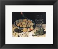 Framed George Flegel Dessert Still Life