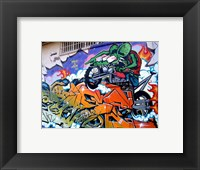 Framed Rage and Roth Rat Fink