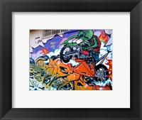 Framed Rage and Roth Rat Fink