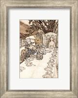 Framed Alice in Wonderland A Mad Tea Party