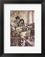 Framed Alice in Wonderland, Who stole the Tarts